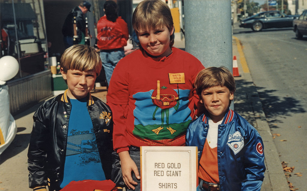 Image of young Reichart boys
