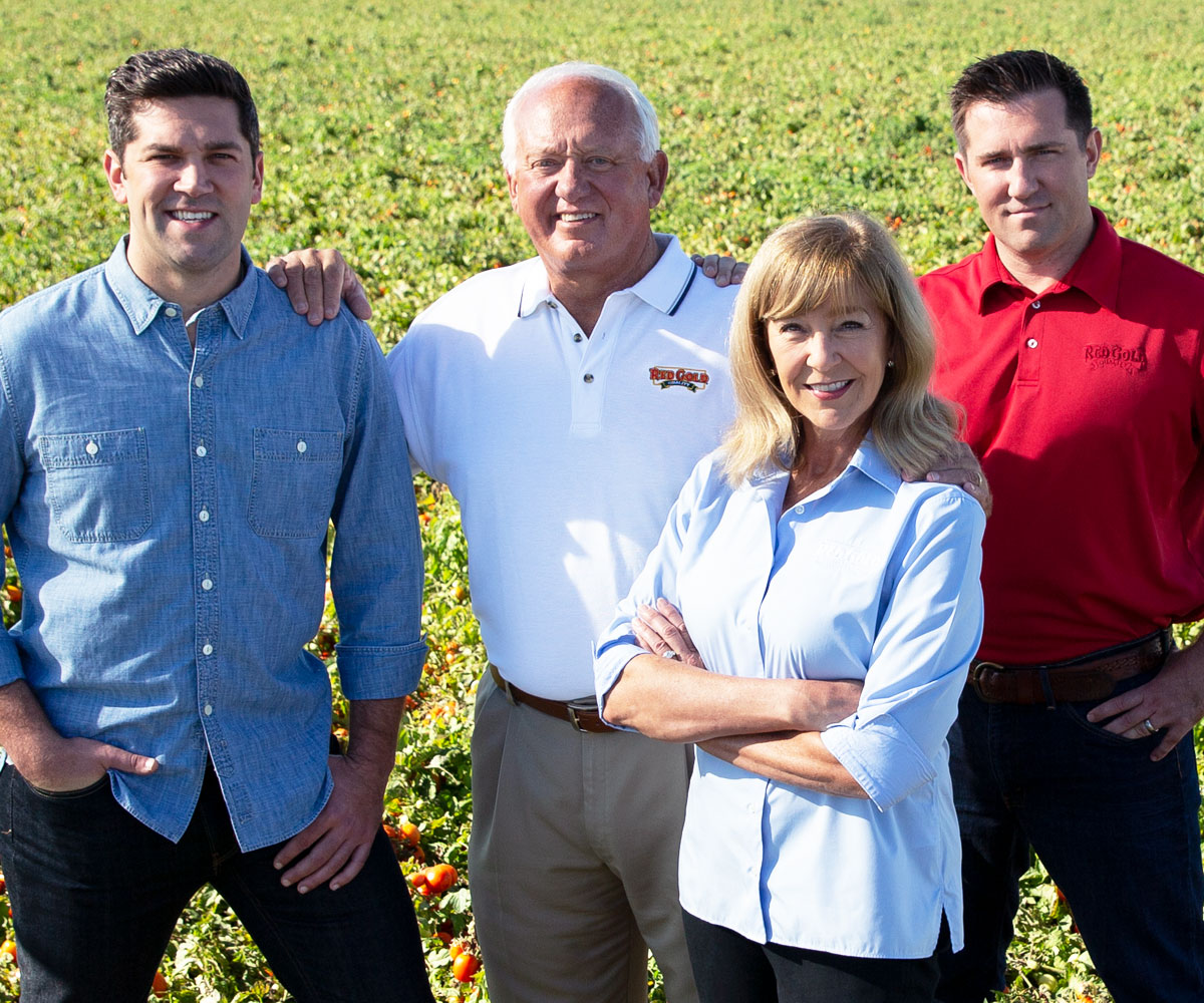 Image of Red Gold Tomatoes Fourth Generation Owners the Reichart Family