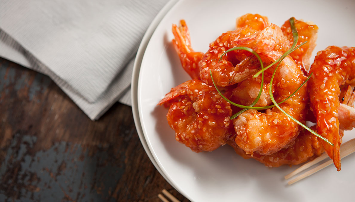 Chinese Ginger Shrimp