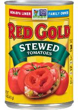 REDCA14_RedGold_StewedTomatoes_14_5oz_FrontPlunge