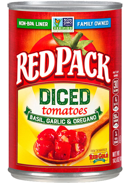 Image of Diced Tomatoes Basil, Garlic & Oregano 14.5 oz