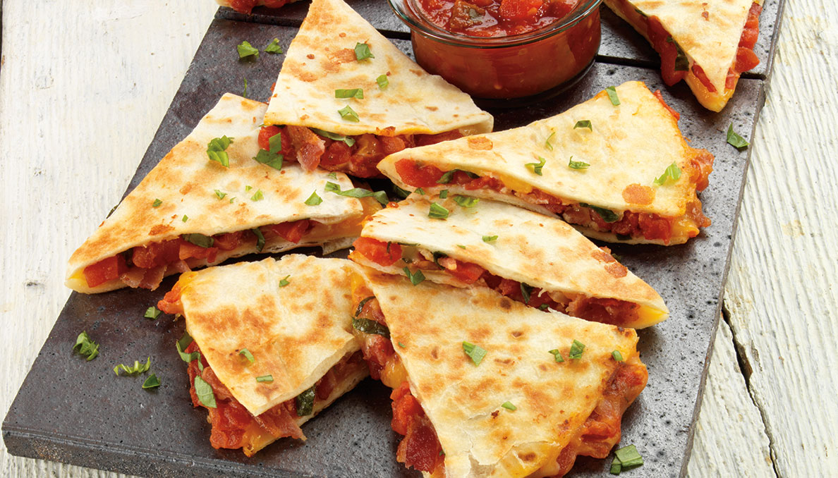 bacon-and-tomato-quesadillas