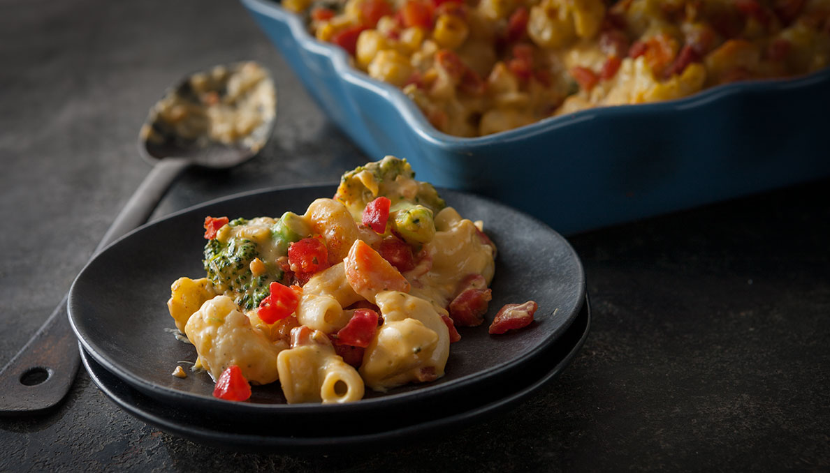 Baked Veggie Mac and Cheese