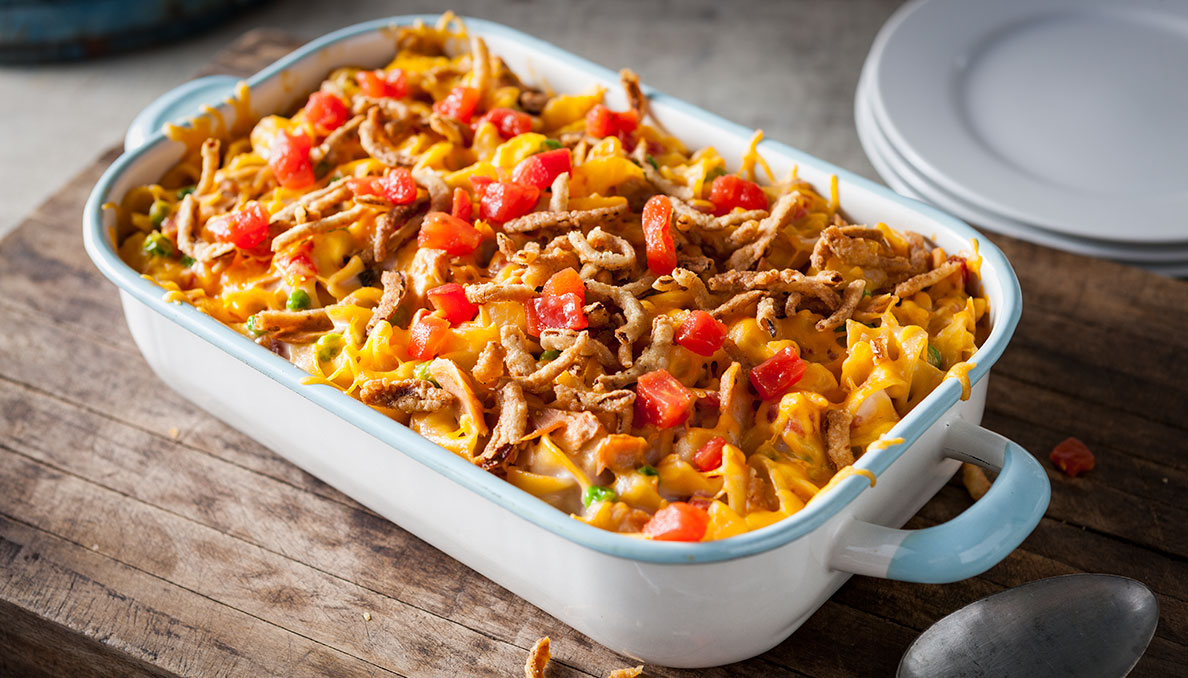 Image of Tuna Casserole in casserole dish