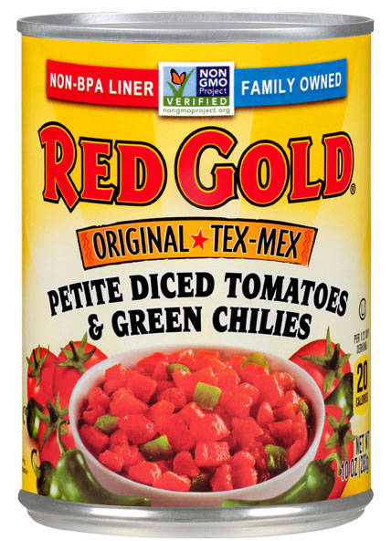 Image of Original Tex-Mex Petite Diced Tomatoes with Green Chilies 10 oz